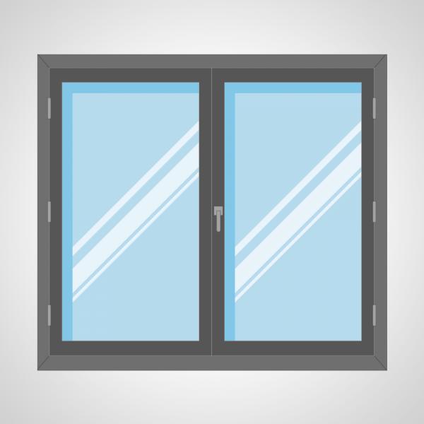 Fenêtre 2 ouvrants à la française